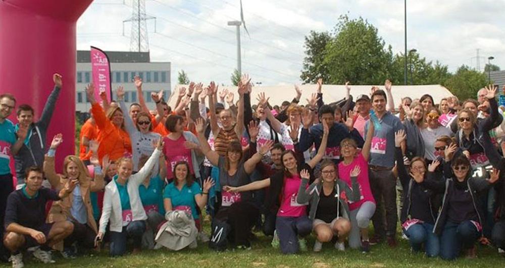 15ème édition du Jogging-Marche ELA « inter-entreprises » CREALYS