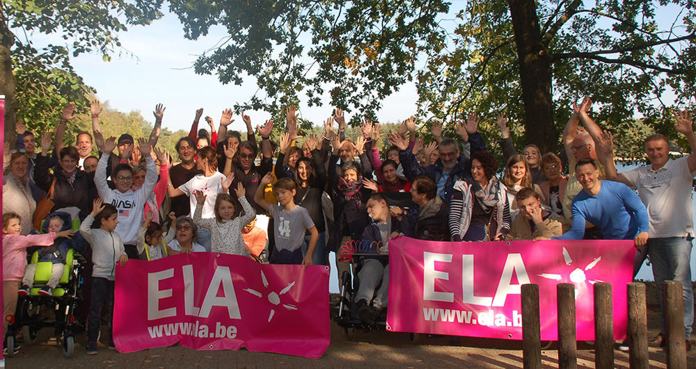 Week-end détente et de partage pour les familles d'ELA
